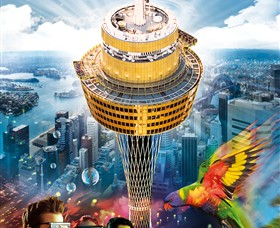 Sydney Tower Eye Logo and Images