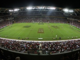 Suncorp Stadium Logo and Images