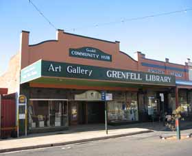 Grenfell Art Gallery Logo and Images