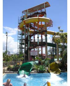 Ballina Olympic Pool and Waterslide Logo and Images