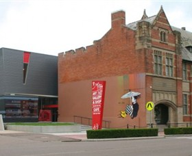 Maitland Regional Art Gallery Logo and Images