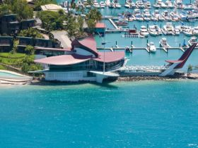 Hamilton Island Yacht Club Logo and Images
