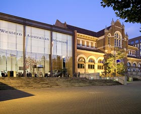 Western Australian Museum Perth Logo and Images