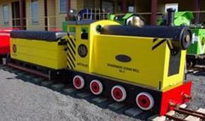 Portarlington Bayside Miniature Railway Logo and Images