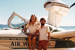 Air Whitsunday Seaplanes Logo and Images