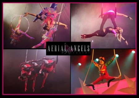 Aerial Angels Logo and Images