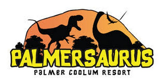 Palmersaurus Park Logo and Images