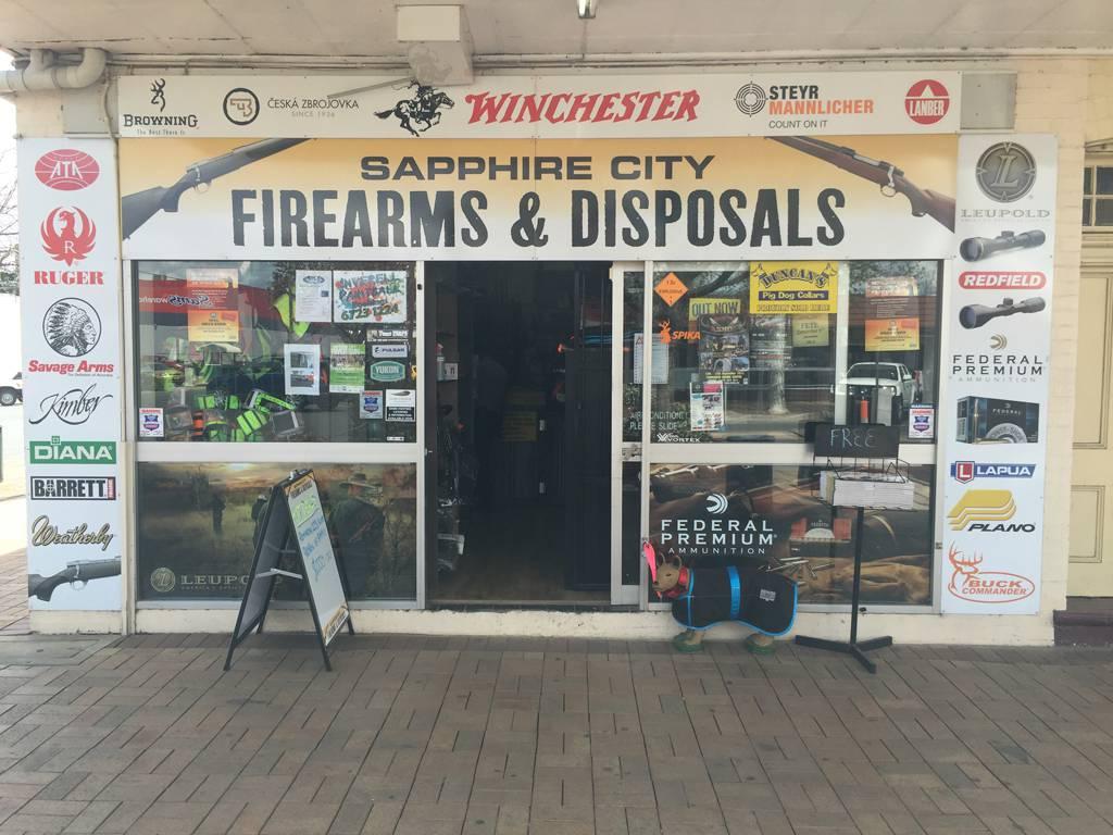 Sapphire City Firearms & Disposals