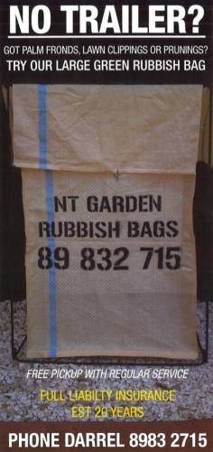 NT Garden & Rubbish Bags