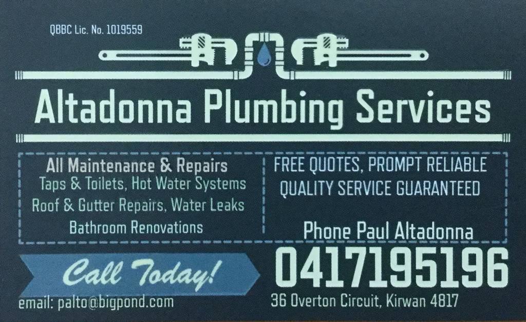 Altadonna Plumbing Service