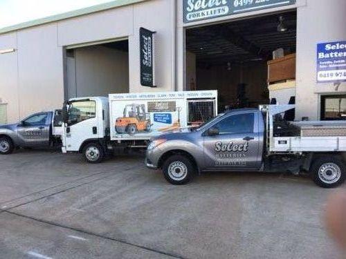 Select Forklifts & Batteries
