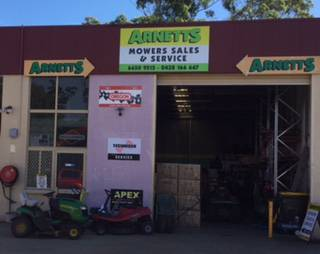 Arnetts Mower & Small Motor Service