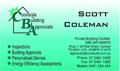 Cooloola Building Approvals