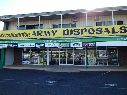 Rockhampton Army Disposals