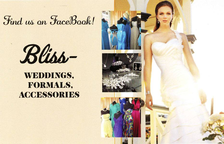 Bliss–Weddings, Formals, Accessories
