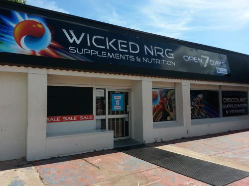 Wicked NRG Supplements & Nutrition