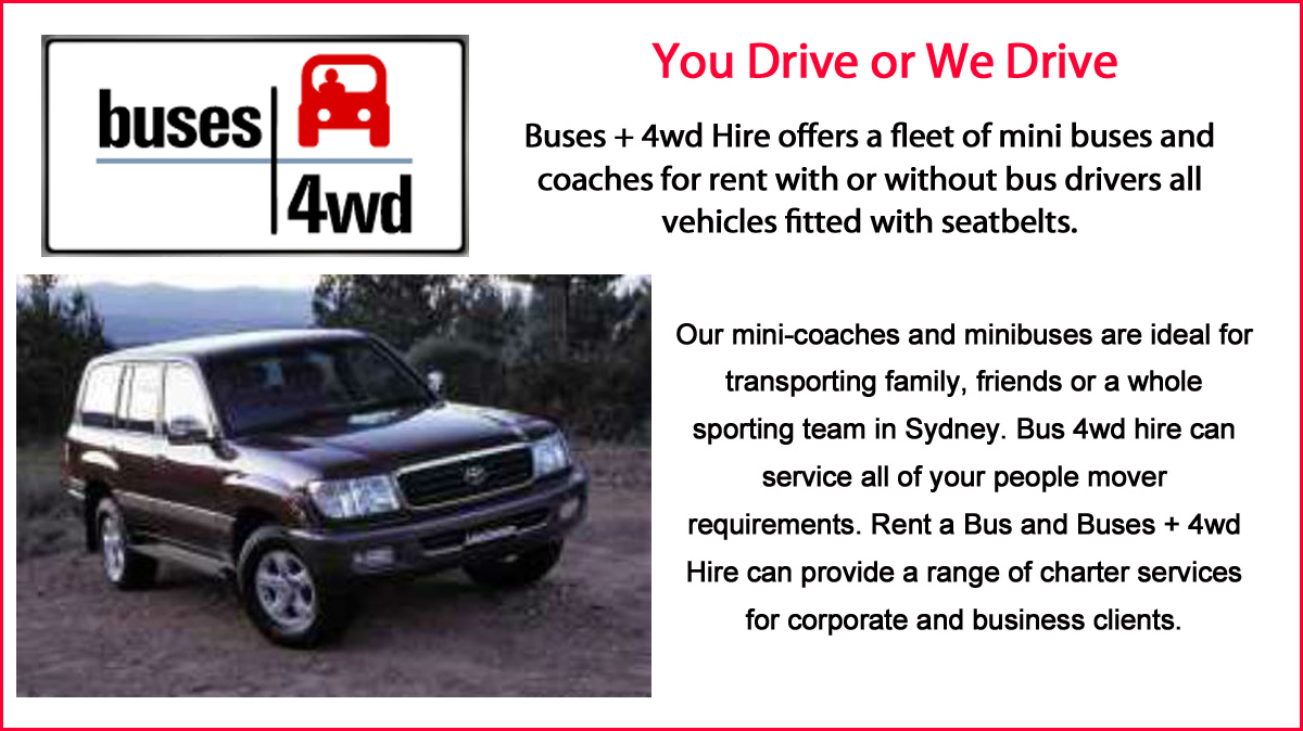 Buses 4WD Hire Pty Ltd Image
