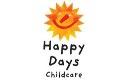 Happy Days Child Care Logo and Images