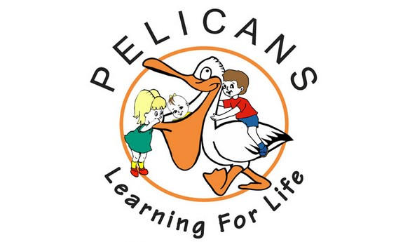 Pelicans Early Learning & Child Care Logo and Images