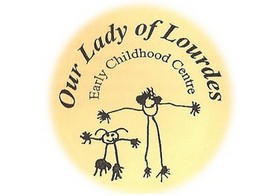 Our Lady of Lourdes Early Childhood Centre Logo and Images