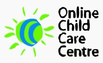 Online Child Care Centre Logo and Images
