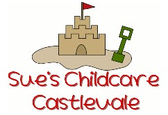 Sue's Child Care Logo and Images