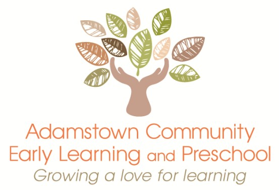 Adamstown Community Early Learning and Preschool Logo and Images