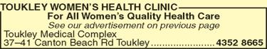 Toukley Women�s Health Clinic