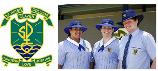 St Peter Claver College Logo and Images