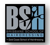 The Brisbane School of Hairdressing Logo and Images