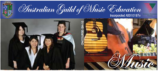Australian Guild of Music Education Logo and Images