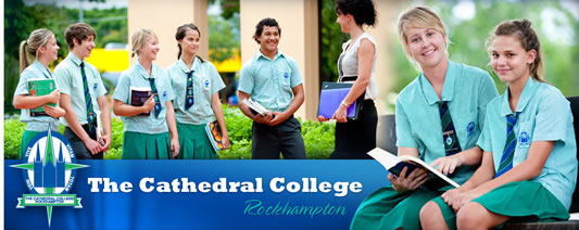 The Cathedral College Logo and Images