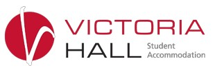 Victoria Hall Student Accommodation Logo and Images
