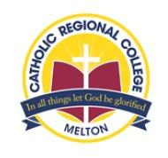 Catholic Regional College Melton Logo and Images