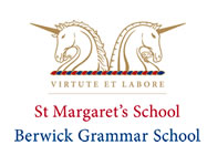 St Margarets and Berwick Grammar School Logo and Images