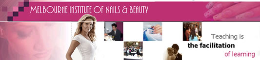 Melbourne Institute of Nails & Beauty Logo and Images