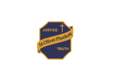 St Oliver Plunkett School Logo and Images