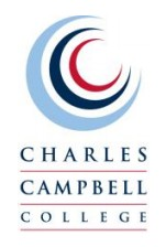 Charles Campbell College Logo and Images