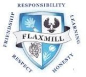 Flaxmill School Logo and Images