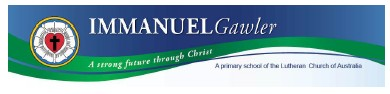 Immanuel Lutheran School Gawler Logo and Images
