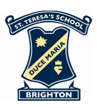 St Teresa's School Logo and Images