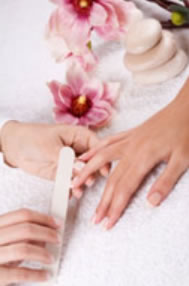 Glam Beauty & Nails Logo and Images