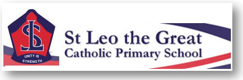 St Leo The Great Primary School Logo and Images