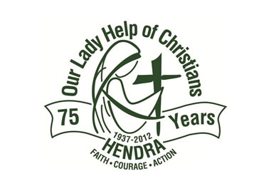Our Lady Help of Christians School Hendra Logo and Images