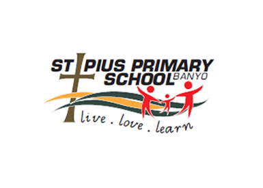 St Pius' Catholic Primary School Logo and Images