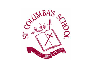 St Columba's Primary School Logo and Images