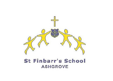 St Finbarr's School Logo and Images