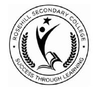 Rosehill Secondary College