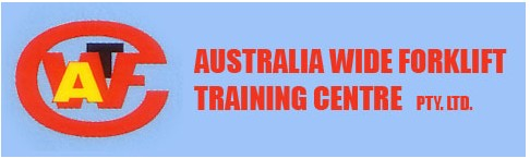 Australia Wide Forklift Training Centre Logo and Images