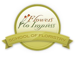 Flowers To Impress School of Floristry Logo and Images